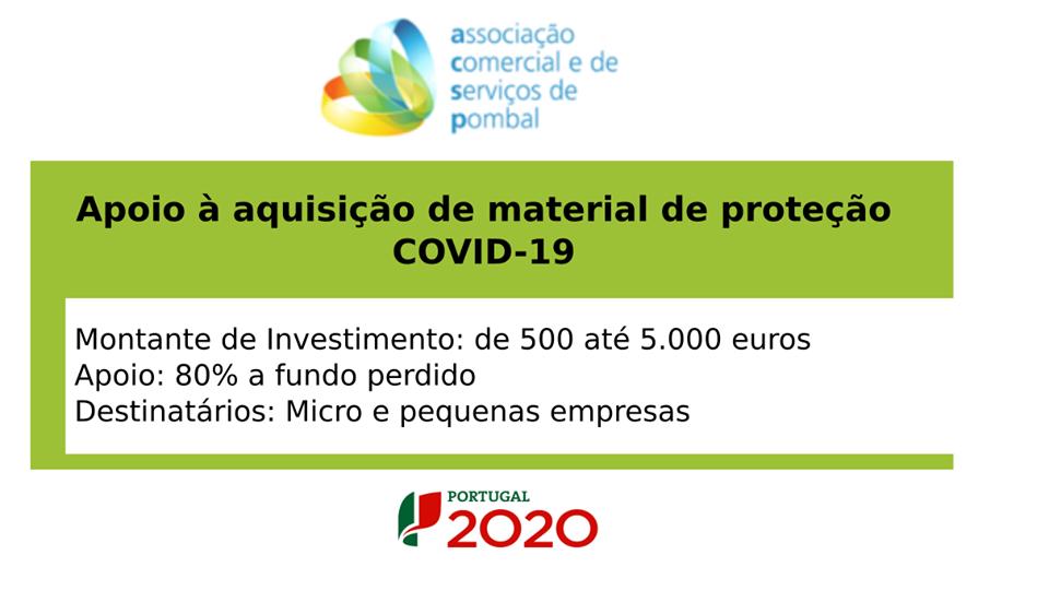 Comércio com apoios até cinco mil euros, 80% a fundo perdido